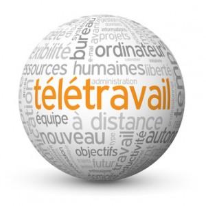 """Globe - Nuage de Tags """"TELETRAVAIL"""" (tltravail management)"""