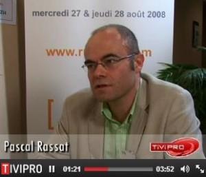 Interview dans le cadre de Ruralitic (Aurillac) en 2008.