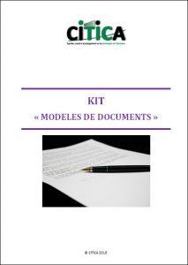 """Kit """"Modèles de documents"""" Image"""